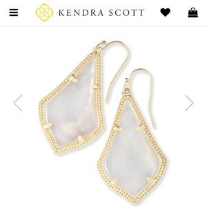 Kendra Scott: Alex Gold drop earrings!